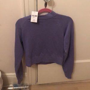 Forever 21 purple sweatshirt